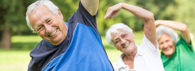 senioren hilfe - Bewegung im Alter